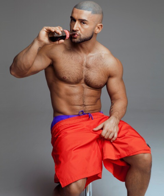François Sagat for L'homo magazine shot by Marco van Rijt12