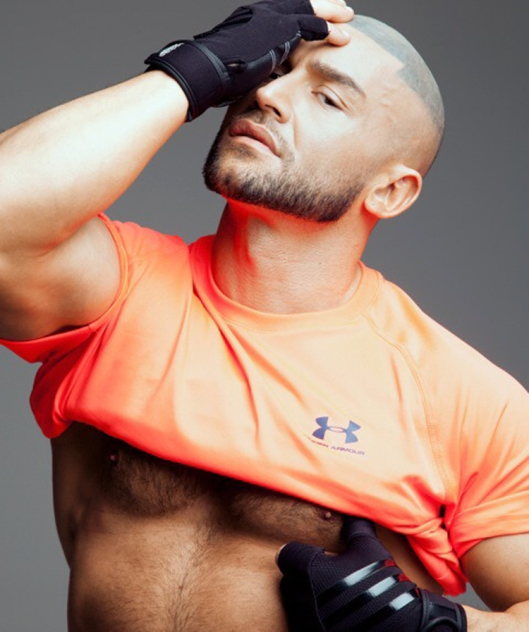 François Sagat for L'homo magazine shot by Marco van Rijt13
