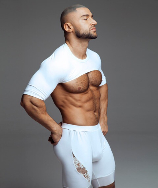 François Sagat for L'homo magazine shot by Marco van Rijt5