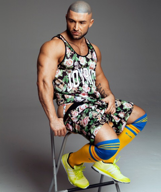 François Sagat for L'homo magazine shot by Marco van Rijt9